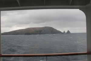 Cape Horn from our stateroom window.